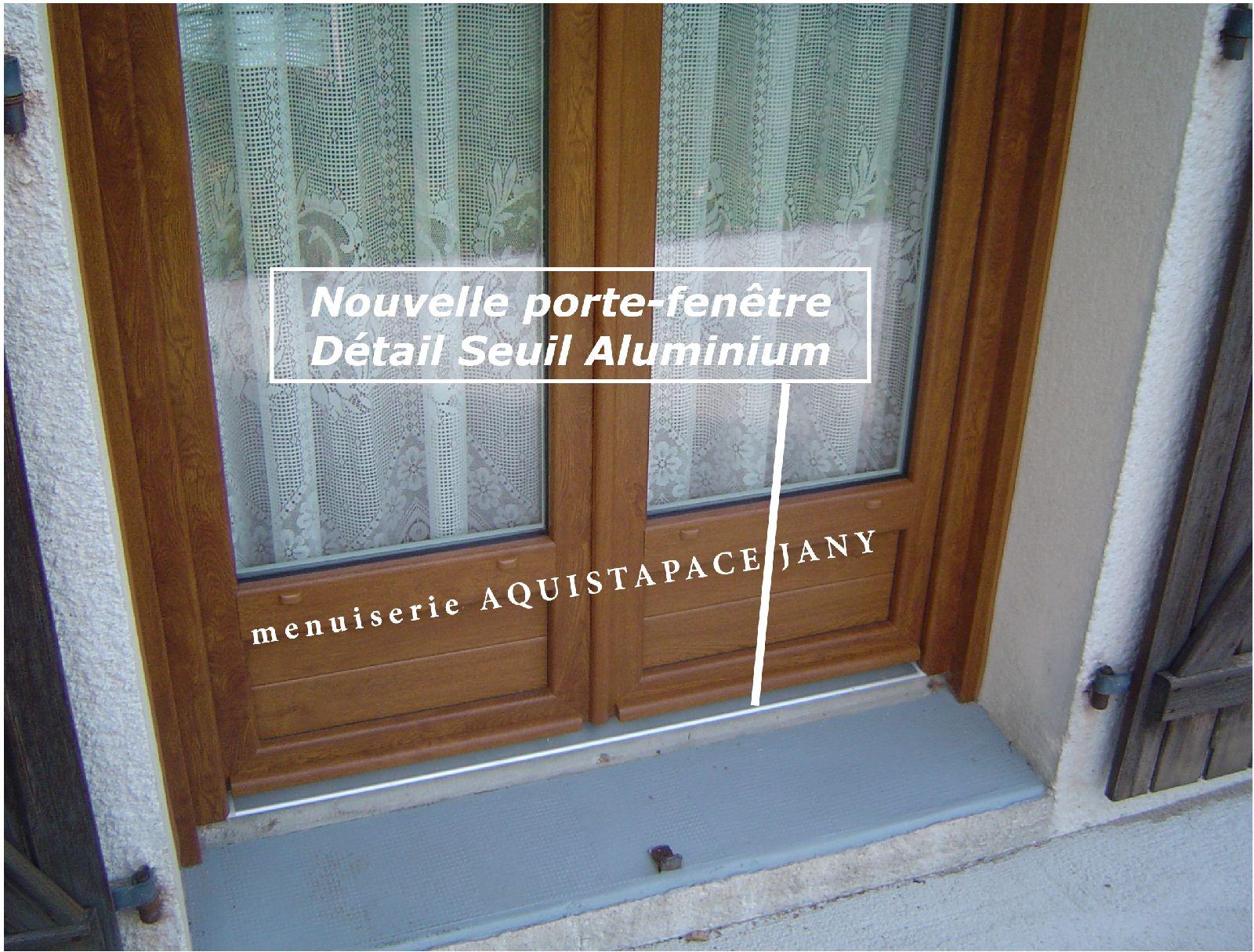 Appui de fenetre bois pose de la tle inox with appui de for Tablette pour fenetre interieur