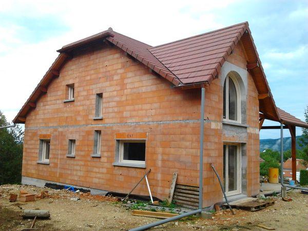 Fenêtre et Portes PVC beige Construction neuve