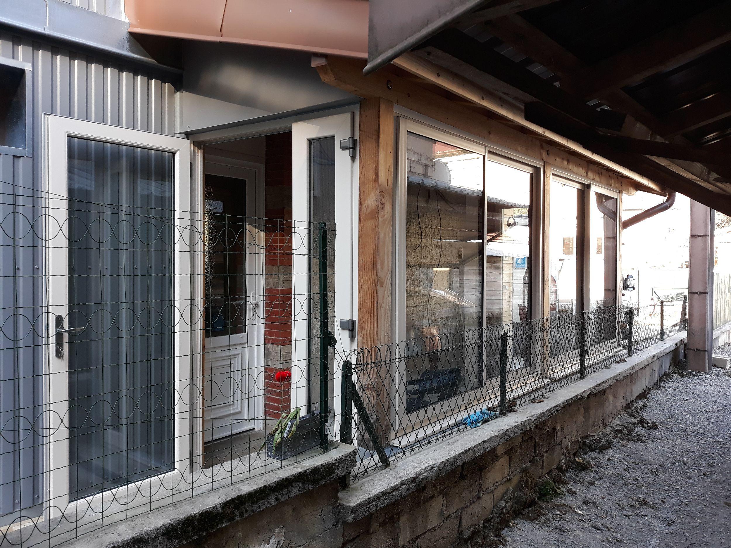VÉRANDA - Coulissants + Portes