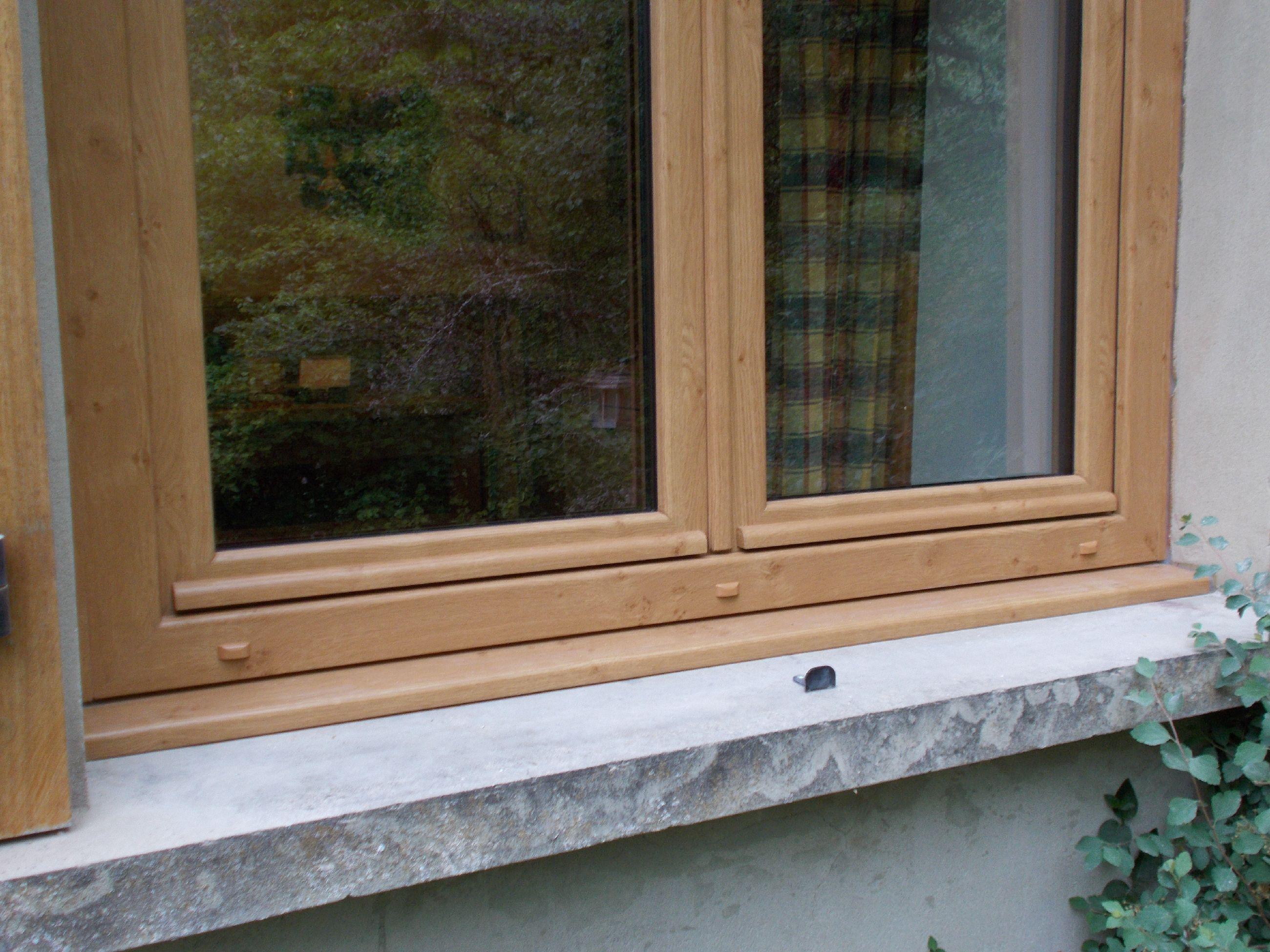 Fenêtre PVC coloris CHÊNE IRLANDAIS