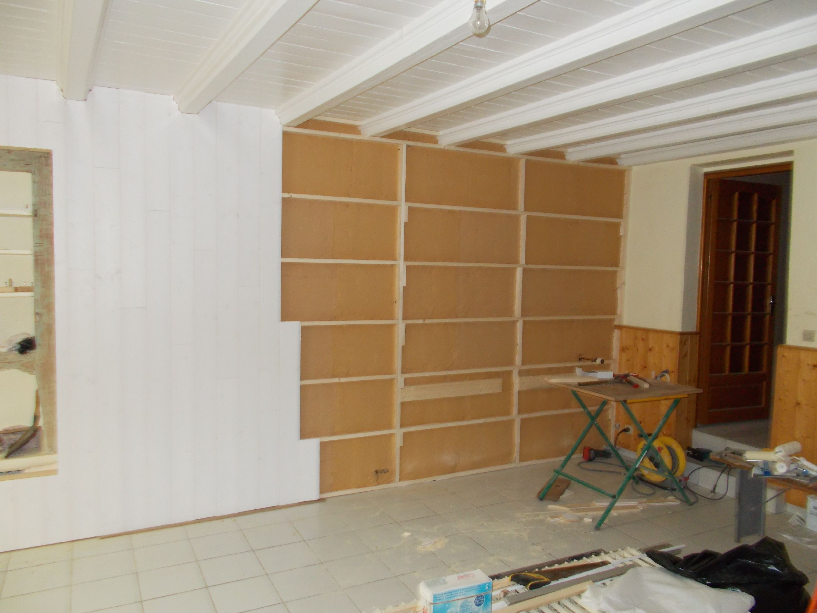 Doublage mur excellent doublage mur with doublage mur for Isoler les murs de son garage