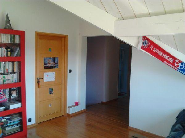 Création d'une entrée pour une chambre - AVANT